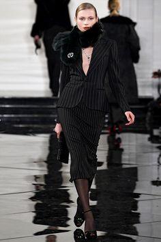 Ralph Lauren! So impressively noir!