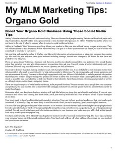 Boost Your Organo Gold Business! Like my page on Facebook- Organo gold by Trena