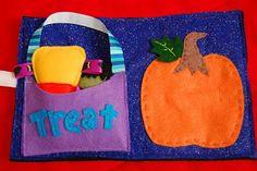 Toddler Halloween Quiet Book