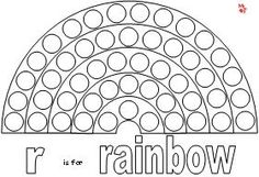 Rainbow Dot Paint and more printables