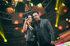Kamal Haasan & Shruti Haasan at Vijay Awards