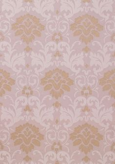 Meadowshall #wallpaper in #lavender from the Damask Resource 3 collection. #Thibaut #Damask