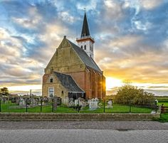 Take Me To Church, Holland Netherlands, Modern Buildings, Kirchen, Land Scape, Countryside, Sunrise, Europe, Island
