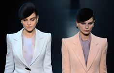 Giorgio Armani Haute Couture Fall Winter 2013.