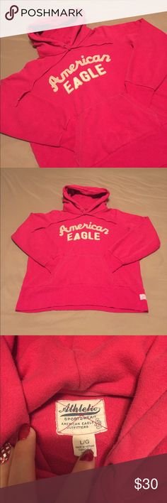 American eagle hoodie Guc, some fading from washing. No other signs of wear. American Eagle Outfitters Tops Sweatshirts & Hoodies