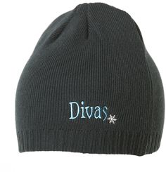 Divas Knit Beanie: $19.99 #DivasSnowGear. This would be perfect to wear after a long day of snowmobiling and helmet hair.