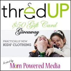 Win a $50 Gift Code in the ThredUp Giveaway! - Game On Mom