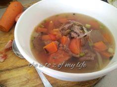 Resepi Berpantang : Sup Daging