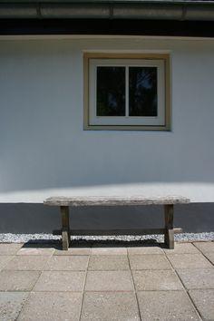 Lekker op een bankje in de zon.