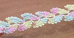 This Lace Cord Is Beautiful, And You Can Learn To Make It Here!