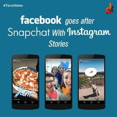 Instagram snapchat like stories launched today