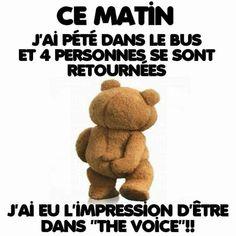 Humour Pour plus -> anais_Fbg Bus Humor, Minion Humour, French Quotes, French Sayings, Slogan, Minions, Funny Jokes, Lol, Phrases