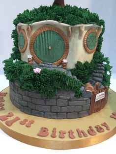 Lord of the Rings Cake - Apr 2016
