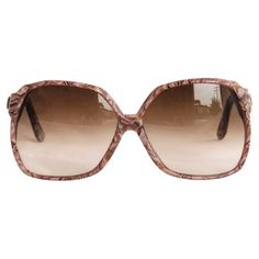 Check out this item at One Kings Lane! YSL Marbleized Brown Sunglasses