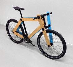 1 | A Flat-Packed Plywood Bike You Put Together Yourself | Co.Design: business + innovation + design