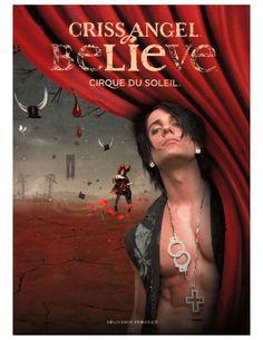"""Das Programm """"Criss Angel Believe"""" vom Cirque du Soleil 2008"""