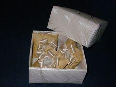 gessetti profumati e scatola origami