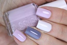 Hiya Dolls!     I picked up Essie  Go Ginza  the other day (she's been on my wishlist for quite a while) and I knew I wanted to do a skittl...