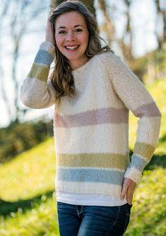 Garnpakke: Alettegenser i Faerytale (dame) - Knitting Inna Pullover, Knitting, Sweaters, Fashion, Caps Hats, Threading, Model, Moda, Tricot