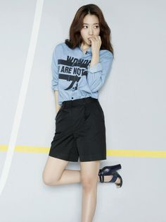 Actress Park Shin Hye Viki fashion 2015 SS
