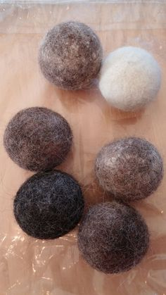 Making Felted Dryer Balls 15