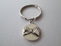 Pinky Promise Keychain by HazelSarai on Etsy, $5.00