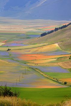 Castelluccio di Norcia Umbria, Italy, province of Perugia.I loved Umbria Places Around The World, Oh The Places You'll Go, Places To Travel, Places To Visit, Around The Worlds, Umbria Italia, Beautiful World, Beautiful Places, The Journey