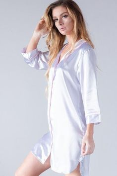 531 Best Satin pjs images in 2019  a6f46ad0aa35