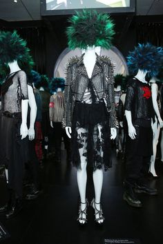 PUNK: Chaos to Couture exhibit at the Metropolitan Museum of Art