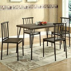 Found it at Wayfair - 5 Piece Dining Set