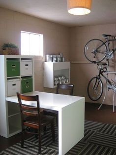 Basement Laundry, Basement Office, Basement Bedrooms, Basement Windows,  Garage Office, Garage