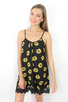 This dress is so cute! Very Californian style! Daisies and lace is one of this summers playful trends! Available now at www.modlook29.com!  $49
