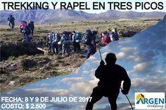 DESCRIPCIÓN  Argentrekking te invita a disfrutar de los hermosos paisajes de nuestra Argentina con el espíritu que nos alienta en cada sal...