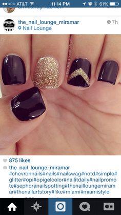 Cool nail design winter nails - amzn.to/2iZnRSz Beauty & Personal Care - Makeup - Nails - Nail Art - winter nails colors - http://amzn.to/2lojz72