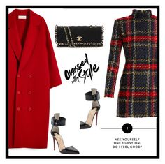 """""""Untitled #729"""" by jovana-p-com ❤ liked on Polyvore featuring Balmain, Chanel and Christian Louboutin"""