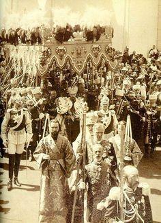 Nicholas and Alexandra's Coronation