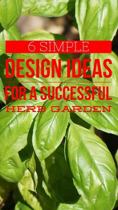6 herb garden design ideas. Herb gardens are easy to plant in just one day. Get some new ideas to brighten up your garden.