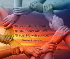 truth, love, service
