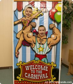 adult carnival party | ordered it from an online party supplier and the Mr. rigged up a ...