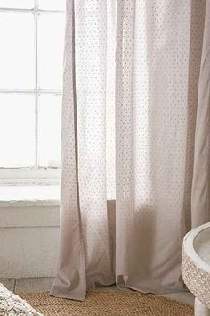 dotted saskia curtain | anthropologie and bungalow