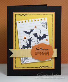 Christina featuring A Pocketful: Halloween stamp set.