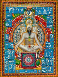 Yoga postures for Chakra Energy