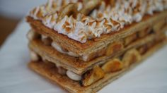 Stephanie's Banana Cream Pie Mille-Feuille   The Great American Baking Show
