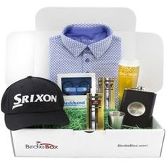 The G-MAC Special Edition Silver Golf Gift Box