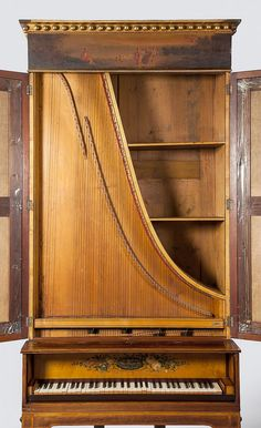 An upright grand piano by Muzio Clementi, London, 1804 Upright Grand Piano, Piano For Sale, Piano Art, Chant, Music Classroom, Music Love, Instrumental, Classical Music, View Image