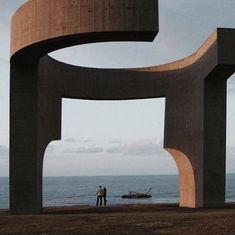 Inspiration #chillida #sculpture #asturias