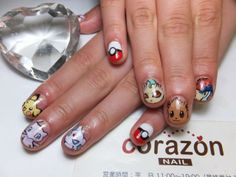 Pokemon : Character nail art