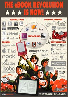I love this infographic, and it's a pretty good roundup of the ebook scene to boot!