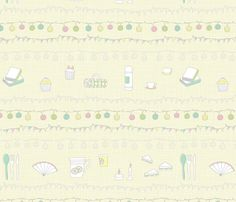 Picnic Party fabric by emmafrances22 on Spoonflower - custom fabric