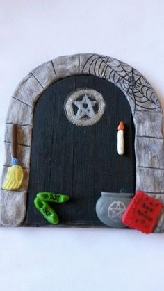 Fairy Door. halloween 1 by magikallittlethings on Etsy